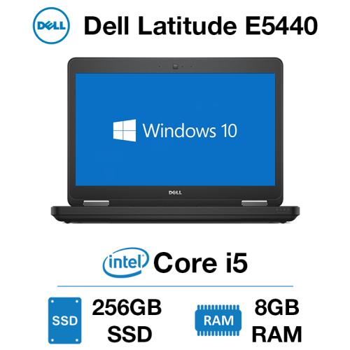 Dell Latitude E5440 Core i5   8GB   256GB SSD   Webcam   Windows 10 Pro