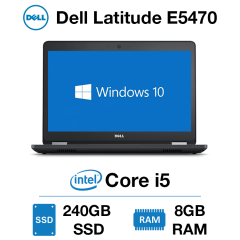 Dell Latitude E5470 Core i5 | 8GB RAM | 240GB SSD