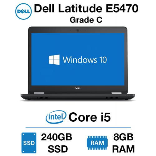 Dell Latitude E5470 Core i5 | 8GB RAM | 240GB SSD Grade C (Minor Case Damage)