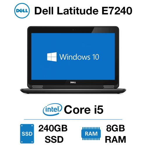 Dell Latitude E7240 Core i5 | 8GB | 240GB SSD