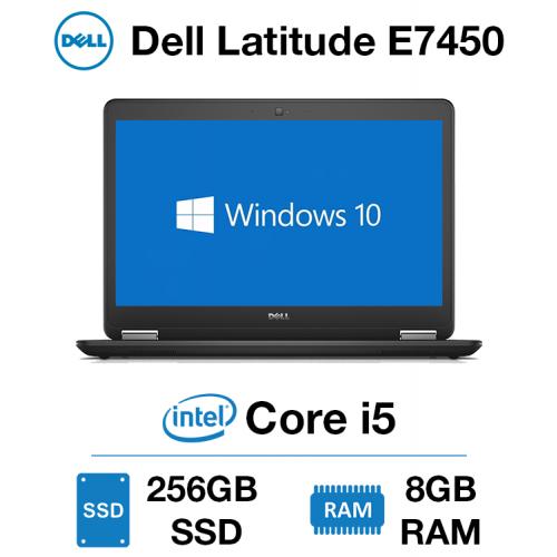 Dell Latitude E7450 Core i5 | 8GB RAM | 256GB SSD | Windows 10 Pro