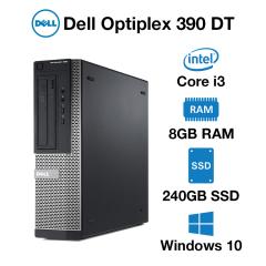 Dell Optiplex 390 DT Core i3 | 8GB | 240GB SSD