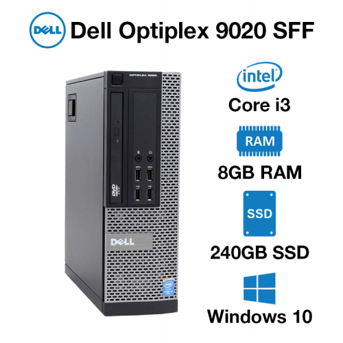 Dell Optiplex 9020 SFF Core i3 | 8GB RAM | 240GB SSD