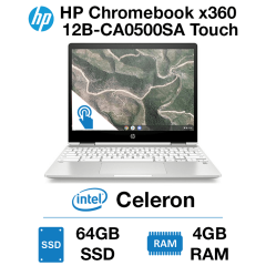 HP Chromebook x360 12B-CA0500SA Touch Celeron | 4GB RAM | 64GB eMMC (Open Box)