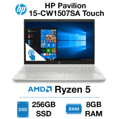 HP Pavilion 15-CW1507SA Touch Ryzen 5 | 8GB RAM | 256GB SSD | Windows 10 Home (Open Box)