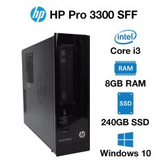HP Pro 3300 SFF Core i3 | 8GB | 240GB SSD