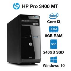 HP Pro 3400 MT Core i3 | 8GB | 240GB SSD