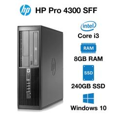 HP Pro 4300 SFF Core i3 | 8GB | 240GB SSD