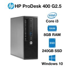 HP ProDesk 400 G2.5 SFF Core i3 | 8GB | 240GB SSD