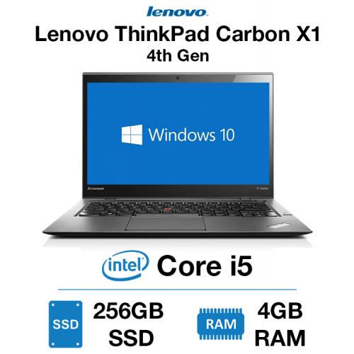 Lenovo ThinkPad 4th Gen X1 Carbon Core i5 | 4GB | 256GB SSD