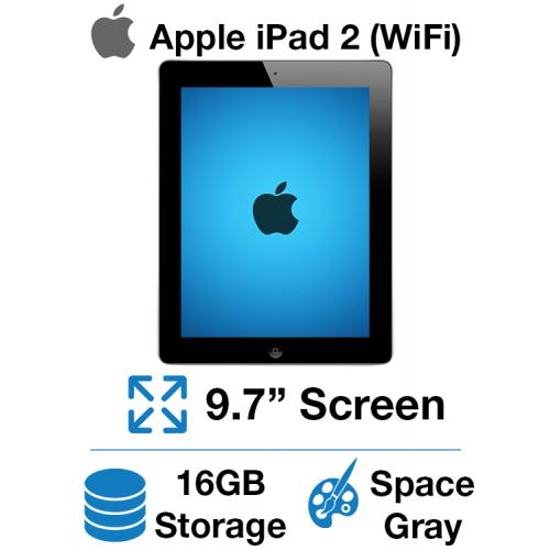 Apple iPad 2 (WiFi) 16GB Space Gray
