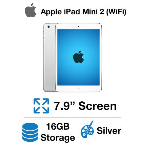 Apple iPad Mini 2 (WIFI) 16GB Silver
