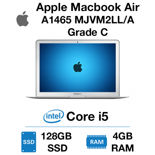 Apple Macbook Air A1465 MJVM2LL/A Core i5 | 4GB | 128GB SSD Grade C - 0151
