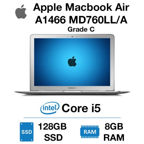 Apple Macbook Air A1466 MD760LL/A Core i5 | 8GB | 128GB SSD Grade C - 0146 - Minor Dent