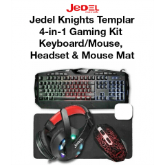 Jedel Knights Templar Elite 4-in-1 Gaming Kit