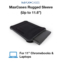 "MaxCases Rugged Sleeve (Up to 11.6"")"