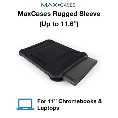 """MaxCases Rugged Sleeve (Up to 11.6"""")"""