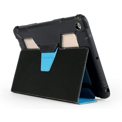 MaxCases Extreme Folio Case for iPad 5th Gen/6th Gen Light Blue