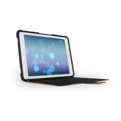 MaxCases Extreme Folio Case for iPad 5th Gen/6th Gen Light Orange