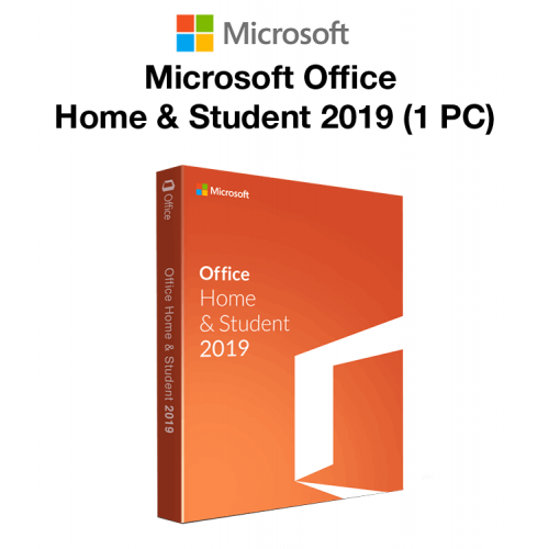 Microsoft Office Home & Student 2019 (1 PC)