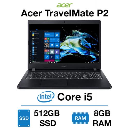 Acer TravelMate P2 Core i5 | 8GB RAM | 512GB SSD | Webcam | Windows 10 Pro (Open Box)
