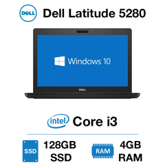 Dell Latitude 5280 Core i3 | 4GB RAM | 128GB SSD | Webcam