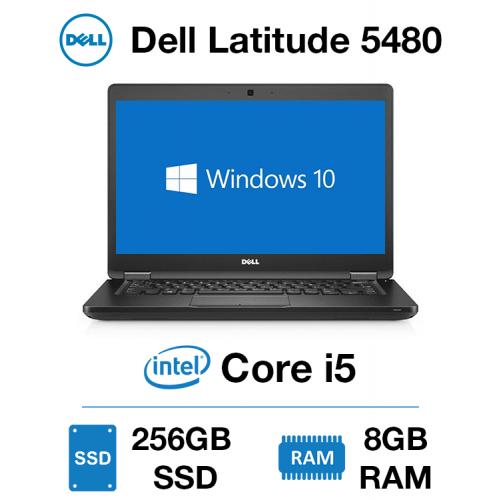 Dell Latitude 5480 Core i5 | 8GB RAM | 256GB SSD | Windows 10 Pro | Webcam