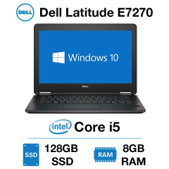 Dell Latitude E7270 Core i5 | 8GB RAM | 128GB SSD | Windows 10 Pro
