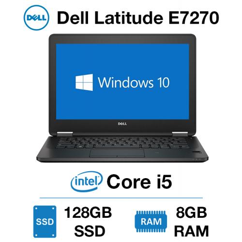 Dell Latitude E7270 Core i5 | 8GB RAM | 128GB SSD | Windows 10 Pro