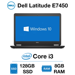Dell Latitude E7450 Core i3 | 8GB RAM | 128GB SSD