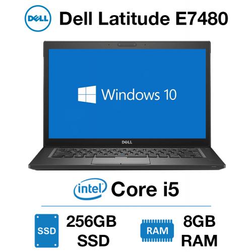 Dell Latitude E7480 Core i5 | 8GB RAM | 256GB SSD | Windows 10 Pro | Webcam