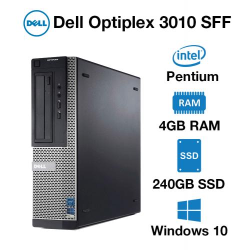 Dell Optiplex 3010 SFF Pentium | 4GB | 240GB SSD