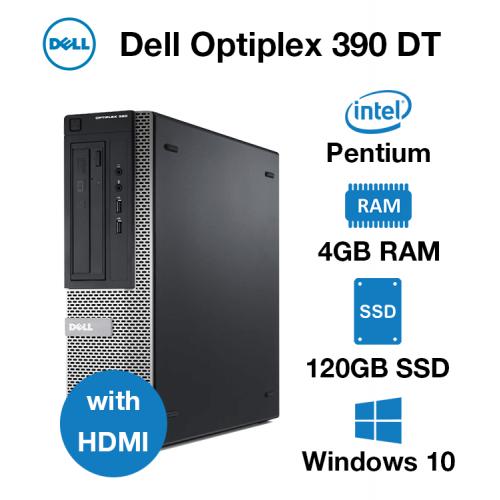 Dell Optiplex 390 DT Pentium | 4GB | 120GB SSD