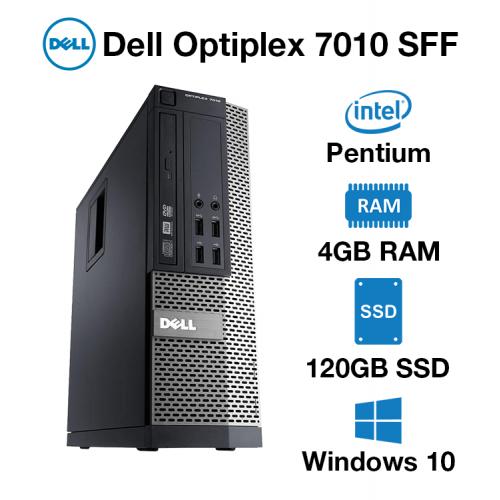 Dell Optiplex 7010 SFF Pentium | 4GB | 120GB SSD