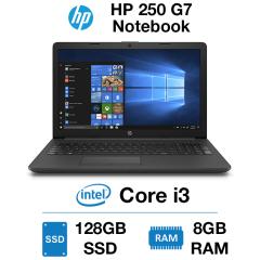 HP 250 G7 Notebook Core i3 | 8GB | 128GB SSD | Webcam | Windows 10 Home (Open Box)