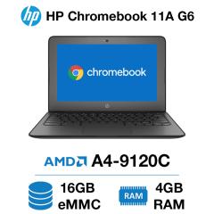 HP Chromebook 11A G6 AMD A4 | 4GB | 16GB eMMC