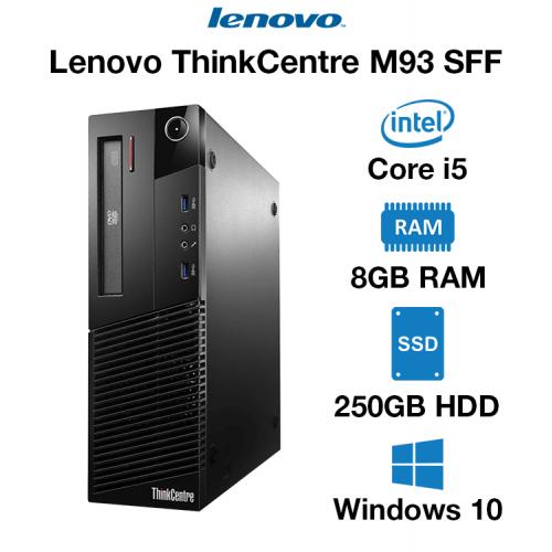 Lenovo ThinkCentre M93 SFF Core i5   8GB RAM   250GB HDD   DVD