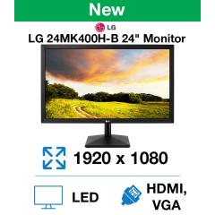 """LG 24MK400H-B 24"""" Gaming Monitor(New)"""