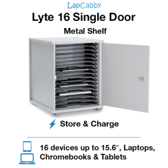 Lyte 16 Single Door Metal Shelf