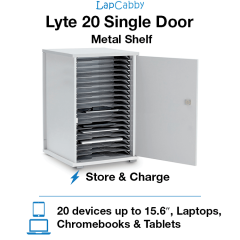 Lyte 20 Single Door Metal Shelf