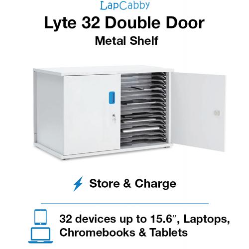 Lyte 32 Double Door Metal Shelf