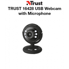 TRUST 16428 USB Webcam with Microphone