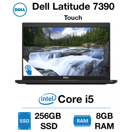 Dell Latitude 7390 Touch Core i5 | 8GB | 256GB SSD | Webcam | Windows 10 Pro