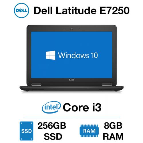 Dell Latitude E7250 Core i3 | 8GB RAM | 256GB SSD | Webcam