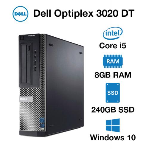 Dell Optiplex 3020 DT Core i5 | 8GB RAM | 240GB SSD