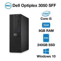 Dell Optiplex 3050 SFF Core i5 | 8GB RAM | 240GB SSD
