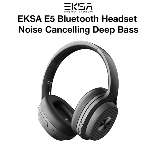 EKSA E5 Bluetooth Headset Noise Cancelling Deep Bass