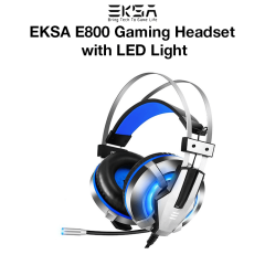 EKSA E800 Gaming Headset with LED Light