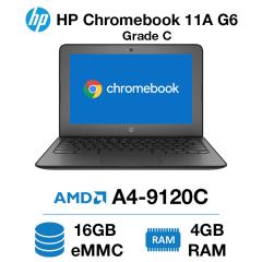 HP Chromebook 11A G6 AMD A4 | 4GB | 16GB eMMC Grade C - 0157