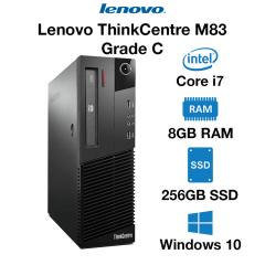 Lenovo ThinkCentre M83 Core i7 | 8GB RAM | 256GB SSD | DVD Grade C